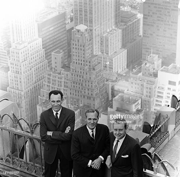 NBC News' Bill Ryan Frank McGee Merrill Red Mueller in 1963 Photo by NBC/NBC NewsWire