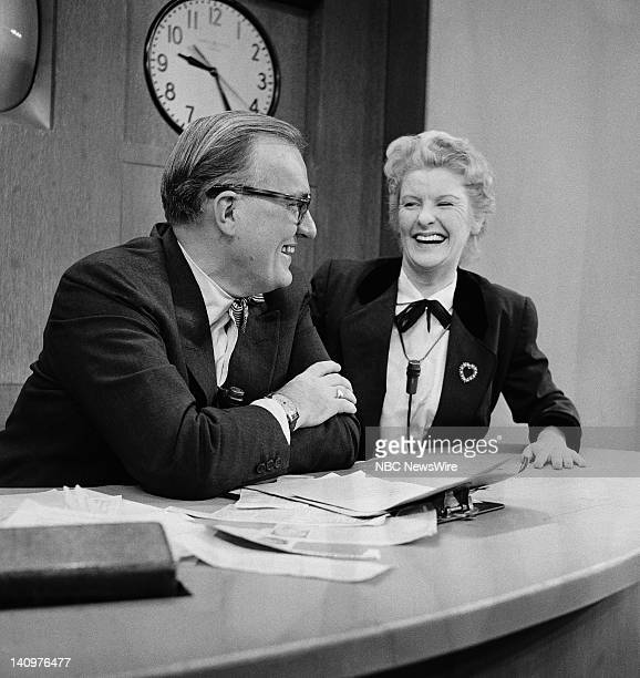 NBC News/ Dave Garroway actress Elaine Stritch on March 14 1957 Photo by NBC/NBC NewsWire