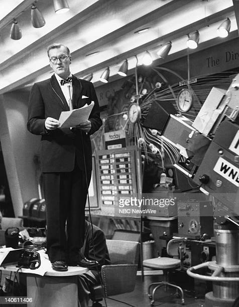NBC News' Dave Garroway in 1952 Photo by NBC/NBC NewsWire