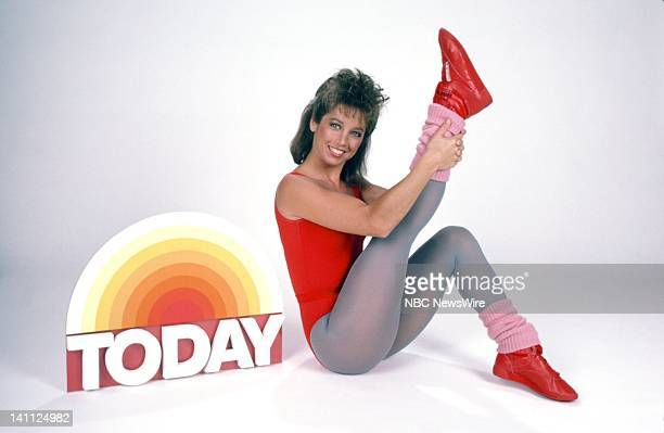 NBC News' Fitness Consultant Denise Austin in 1985 Photo by RM Lewis/NBC/NBC NewsWire