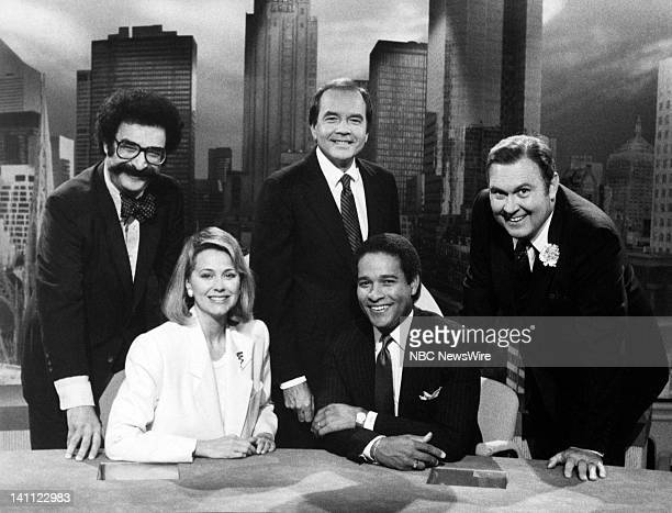 NBC News/ Gene Shalit Jane Pauley John Palmer Bryant Gumbel Willard Scott in 1985 Photo by Alan Singer/NBC/NBC NewsWire