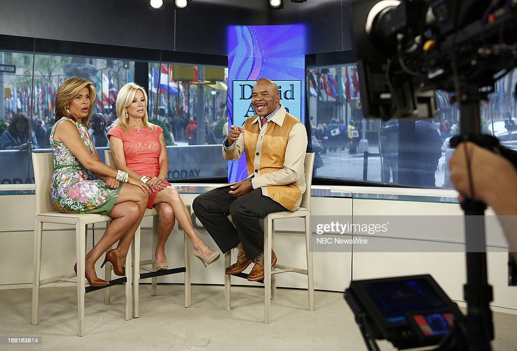 NBC News' Hoda Kotb, Kathie Lee Gifford and actor/comedian David Alan Grier appear on NBC News' 'Today' show on May 6, 2013 --