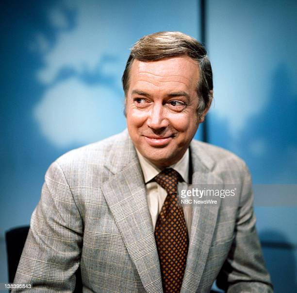 NBC News' Hugh Downs in 1970