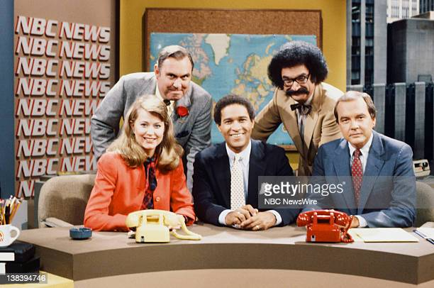 NBC News' Jane Pauley Willard Scott Bryant Gumbel Gene Shalit Jim Palmer in 1982