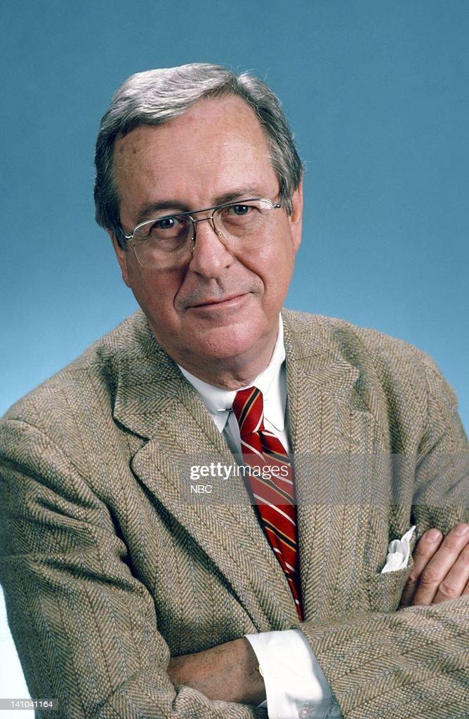 John Chancellor : News Photo