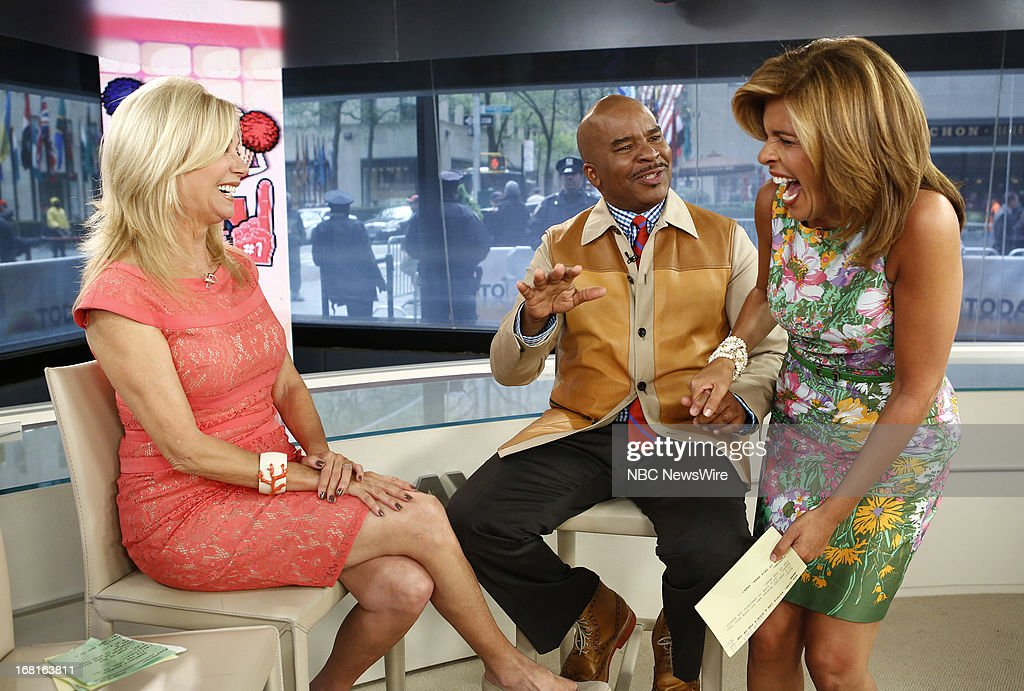 NBC News' Kathie Lee Gifford, actor/comedian David Alan Grier and NBC News' Hoda Kotb appear on NBC News' 'Today' show on May 6, 2013 --