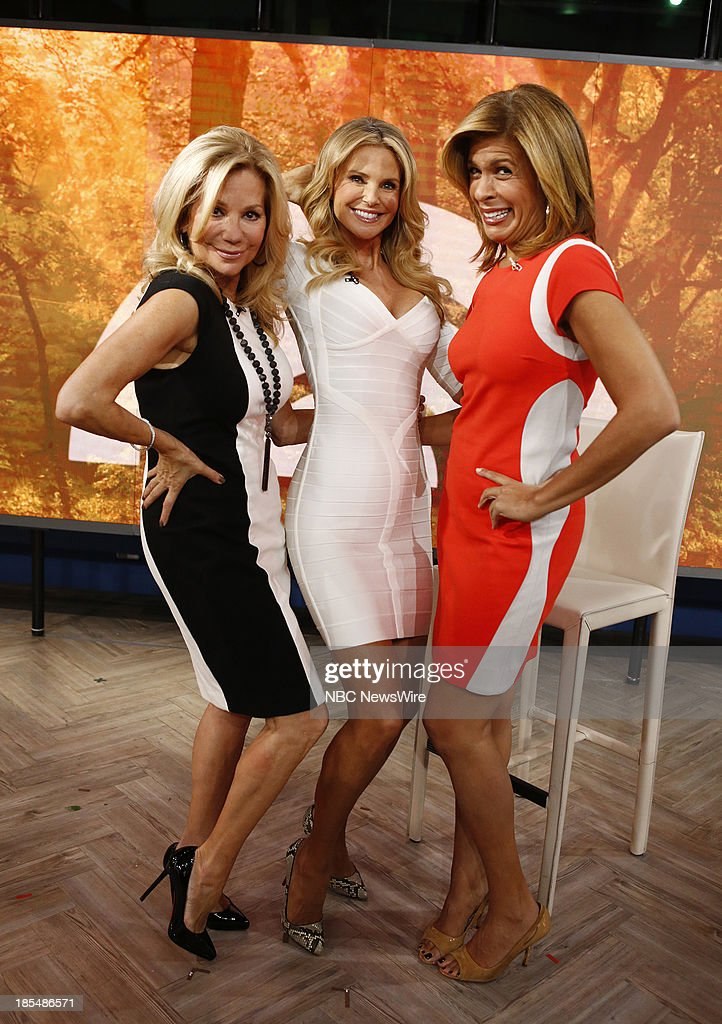 kathie lee gifford and hoda giveaway nbc s quot today quot with guests dick cheney christie brinkley 9721