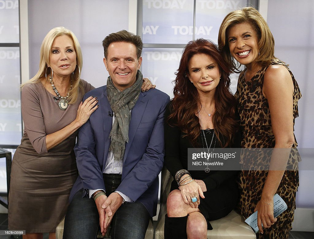 NBC News' Kathie Lee Gifford, producer Mark Burnett, actress Roma Downey and NBC News' Hoda Kotb appear on NBC News' 'Today' show on February 28, 2013 --