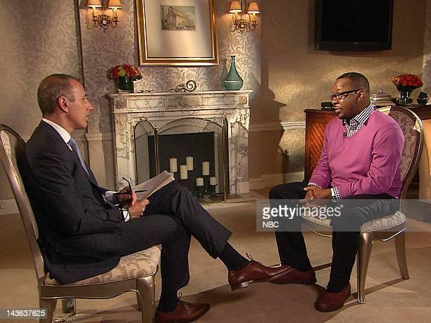 NBC News' Matt Lauer Bobby Brown