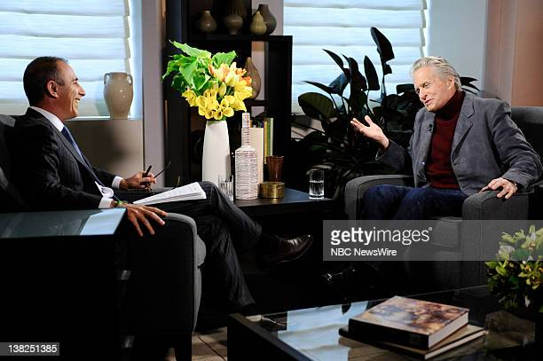 NBC News' Matt Lauer sits down with Michael Douglas for his first exclusive television interview since Douglas' cancer treatments
