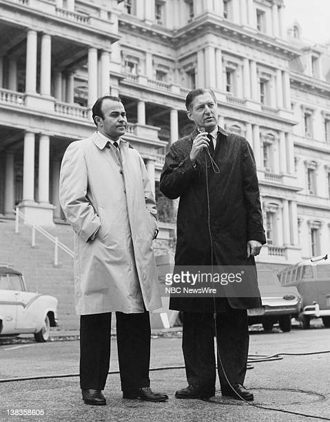 NBC News' Sander Vanocur Ray Scherer reporting live on President John F Kennedy's State Funeral from Washington DC from November 22 1963 November 25...