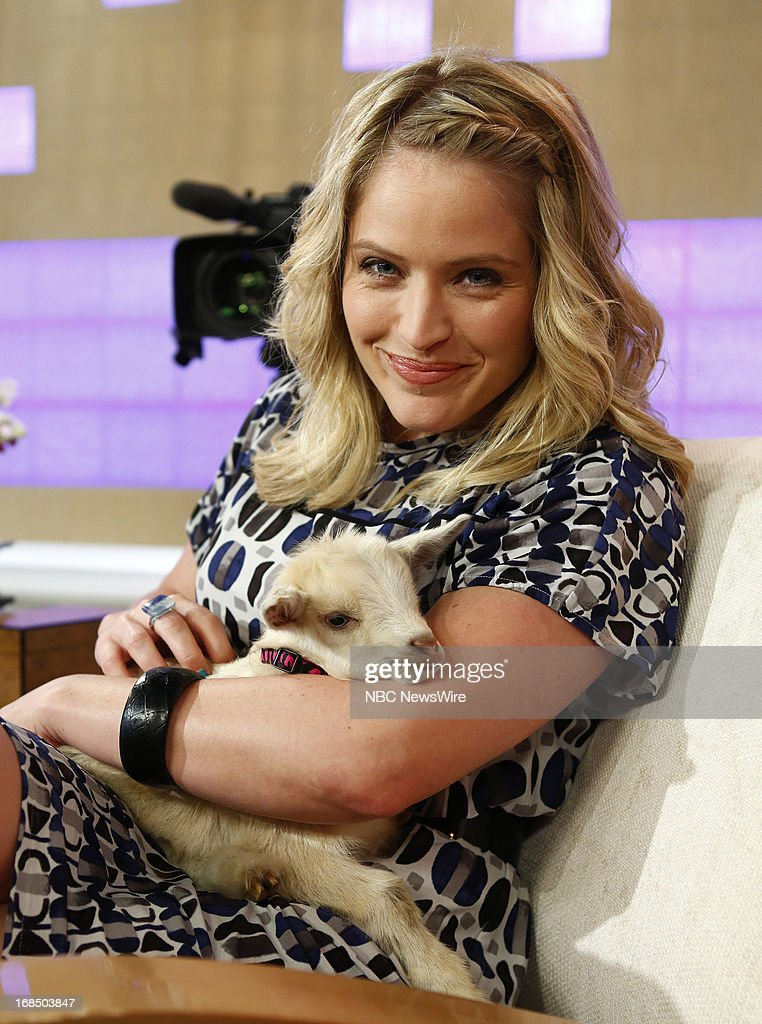NBC News' Sara Haines appears on NBC News' 'Today' show on May 10, 2013 --