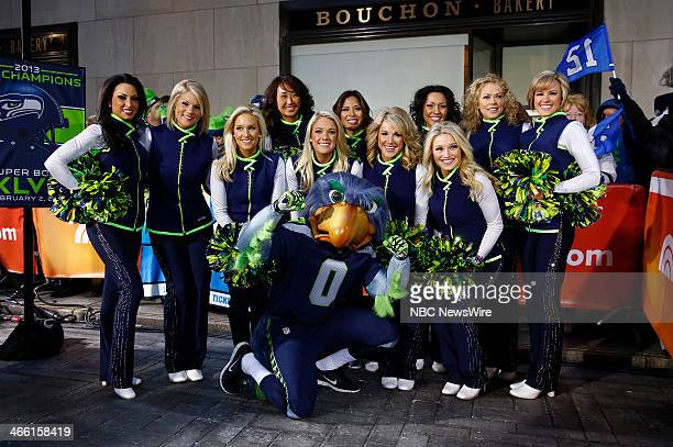 NBC News' 'Today' show celebrates the Super Bowl with a pep rally on the plaza