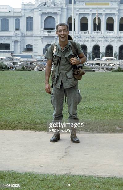 NBC News' Vietnam War photographer Philip Ross in Saigon Vietnam in December 1967 Photo by NBC/NBC NewsWire