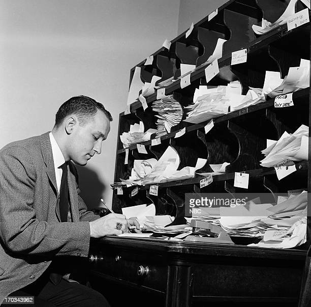 NBC Page D Sims during A Day in the Life of a Page in March 1962 Photo by Bob Ganley NBC/NBCU Photo Bank via Getty Images