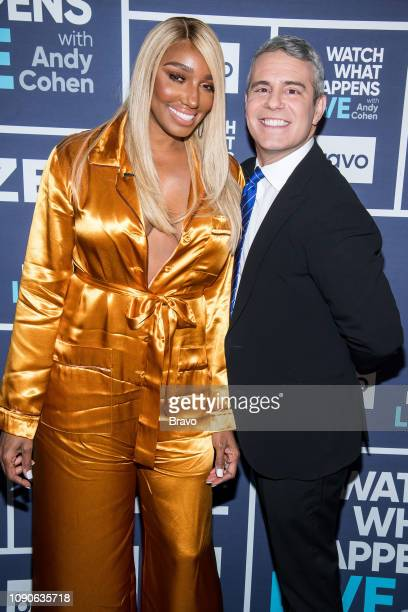 Pictured : NeNe Leakes and Andy Cohen --