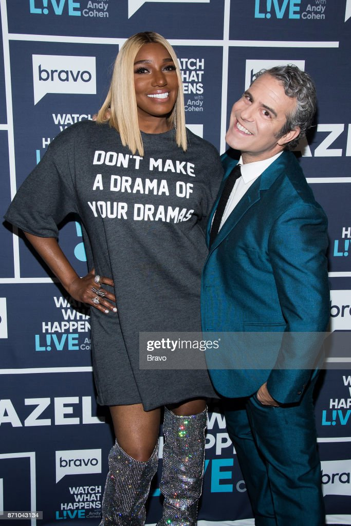 NeNe Leakes and Andy Cohen --