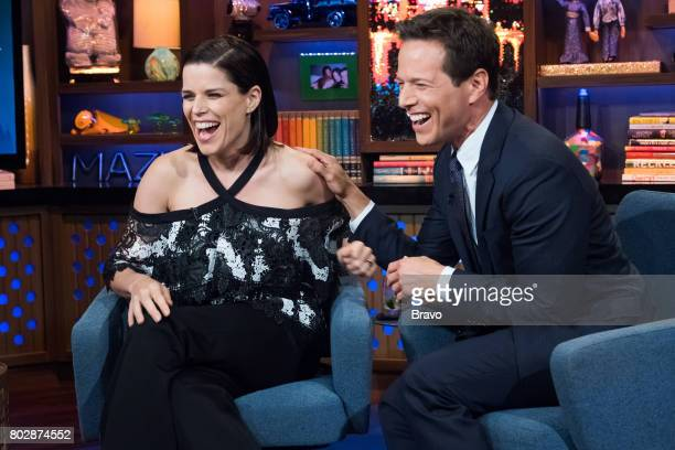 Neve Campbell and Scott Wolf