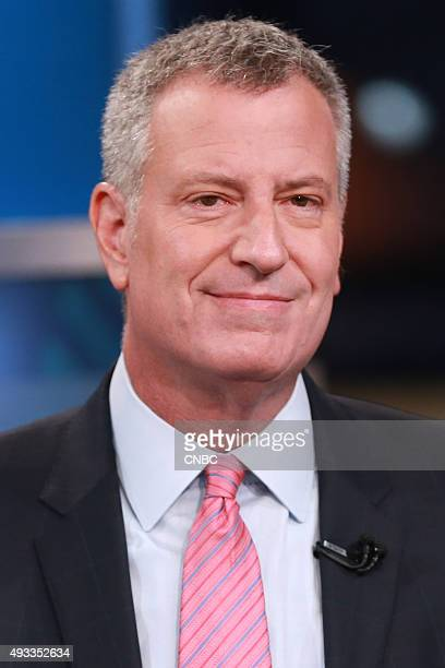 New York City Mayor Bill De Blasio in an interview on September 29 2015