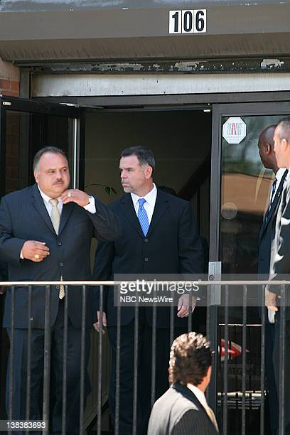 Newark Police Director Garry McCarthy outside of the New Hope Baptist Church where the funeral of Terrance Aeriel was held in Newark New Jersey on...