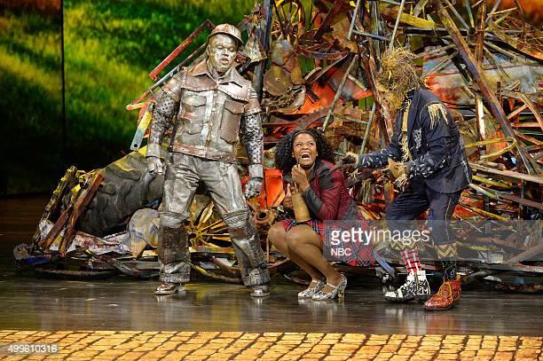 NeYo as TinMan Shanice Williams as Dorothy Elijah Kelley as Scarecrow