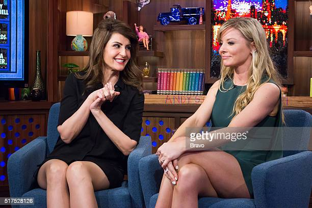 Nia Vardalos and Kaitlin Doubleday
