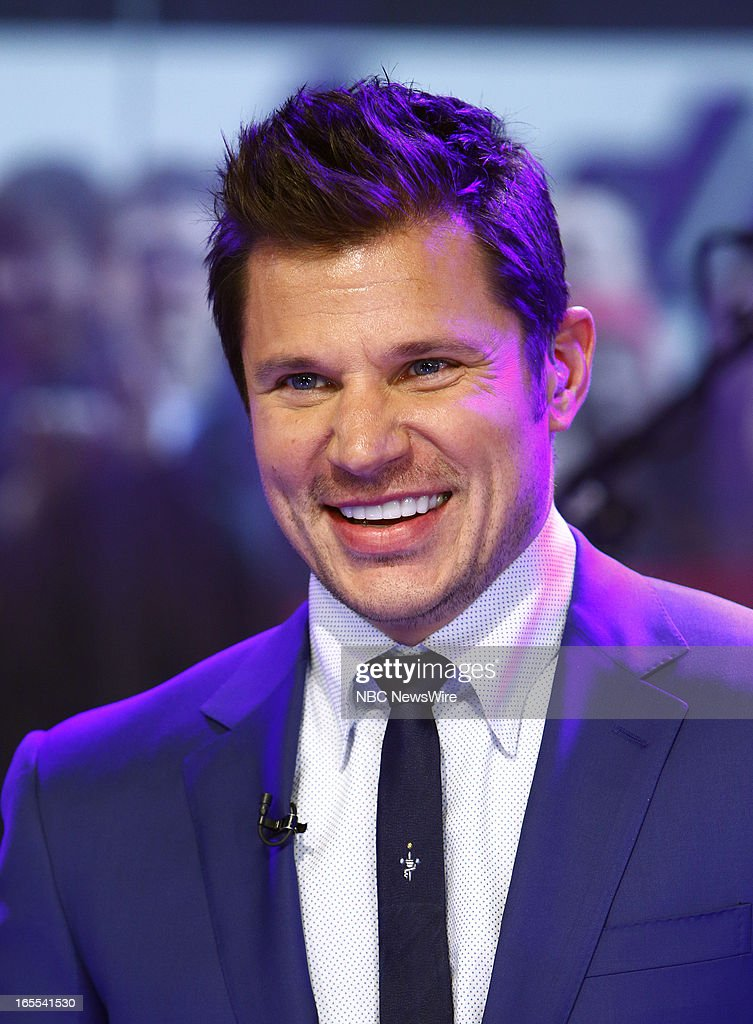 Nick Lachey of 98 Degrees appears on NBC News' 'Today' show --