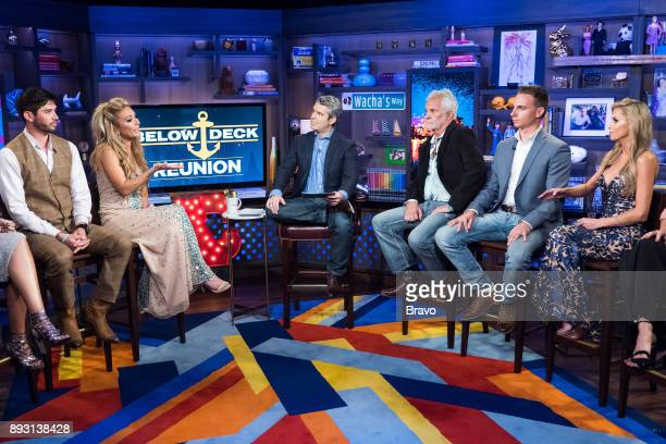 Nico Scholly Kate Chastain Andy Cohen Captain Lee Rosbach EJ Jansen and Jennifer Howell