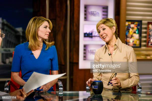 Nicolle Wallace NBC News Political Analyst and Danielle Pletka SVP Foreign and Defense Policy Studies at the American Enterprise Institute appear on...