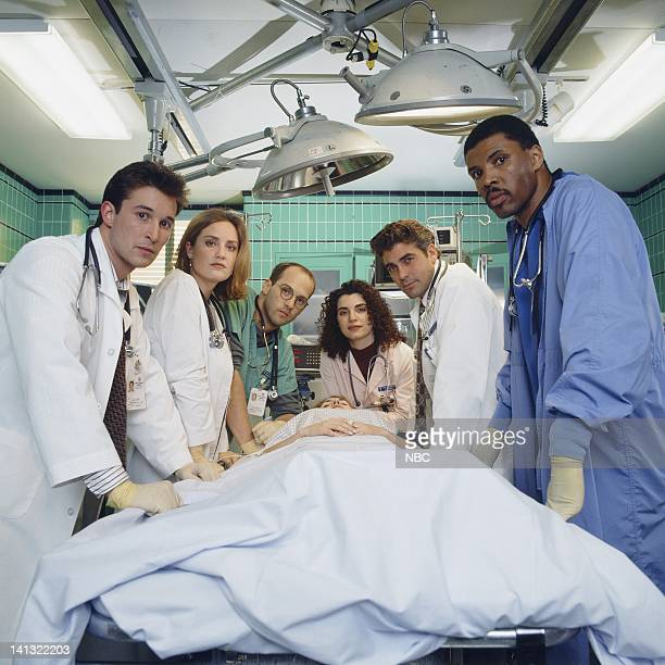 Noah Wyle as Doctor John Carter Sherry Stringfield as Doctor Susan Lewis Anthony Edwards as Doctor Mark Greene Julianna Margulies as Nurse Carol...
