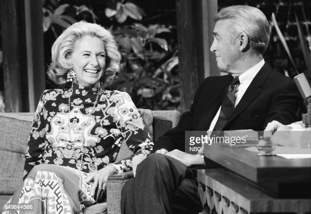 oFormer model Gloria Hatrick McLean with her husband and Actor Jimmy Stewart on February 15th 1971