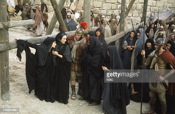 Olivia Hussey as Mary the mother of Jesus Maria Carta as Martha Ernest Borgnine as the Roman Centurion Anne Bancroft as Mary Magdalene Photo by...