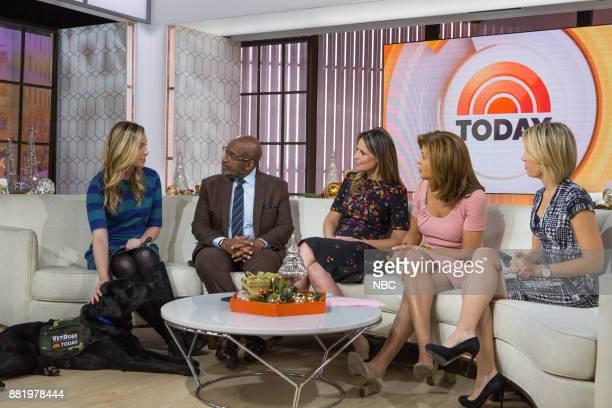 Olivia Poff Al Roker Savannah Guthrie Hoda Kotb and Dylan Dreyer on Wednesday November 29 2017