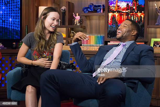 Olivia Wilde and Michael Strahan