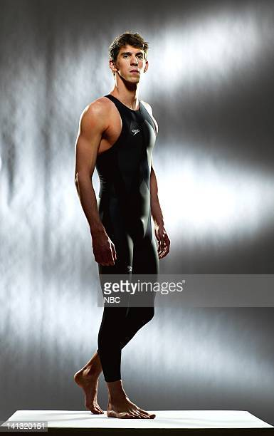 Olympic swimmer Michael Phelps Photo by Mitchell Haaseth/NBCU Photo Bank