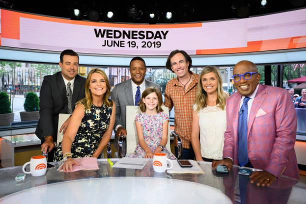 "NY: NBC's ""TODAY"" - Dax Shepard, Bazzi, Adam Devine, Dr. Brette Genzel-Derman, Howie Mandel, Sherri Shepherd, Gabriel Inglesias, Selah Schneiter, Jill Martin"