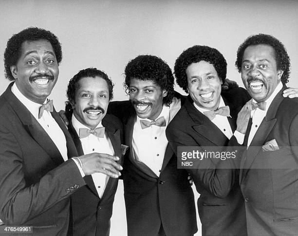 ROCK 'N' ROLL Pictured Otis Williams Ron Tyson AliOllie Woodson Richard Street Melvin Franklin of The Temptations