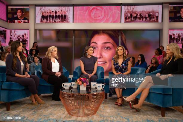 Paige Moore Leslie Almiron Brianna Majsiak Allie Brudner and Megyn Kelly on Wednesday October 3 2018