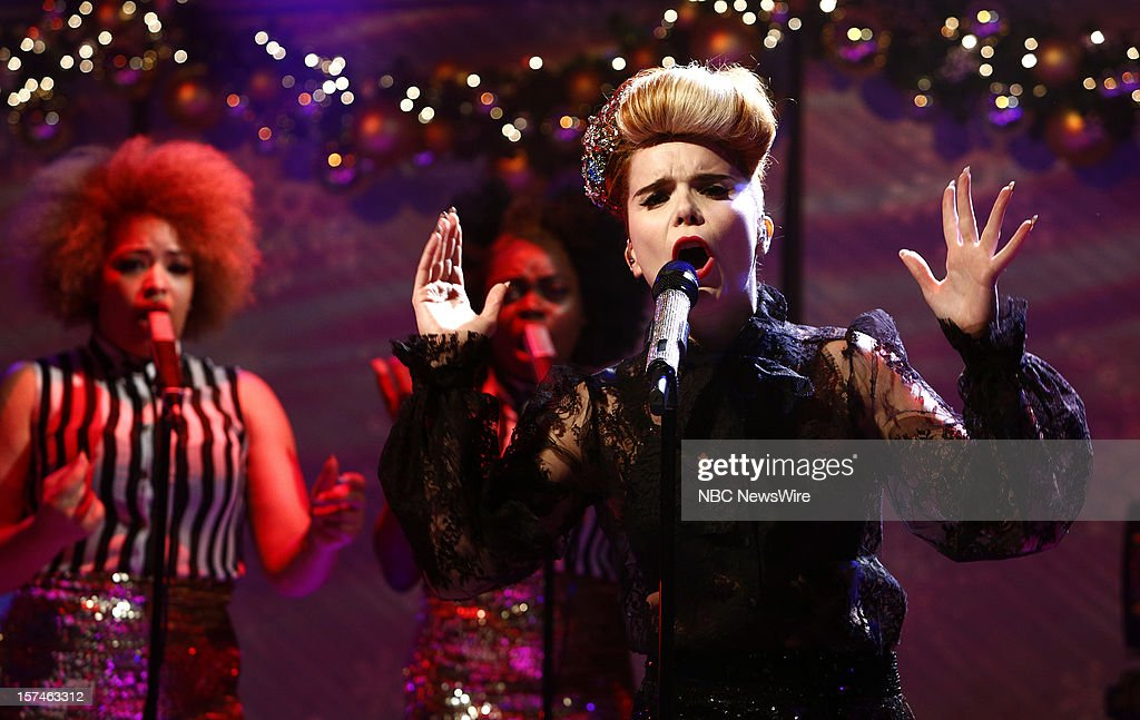 Paloma Faith appears on NBC News' 'Today' show --
