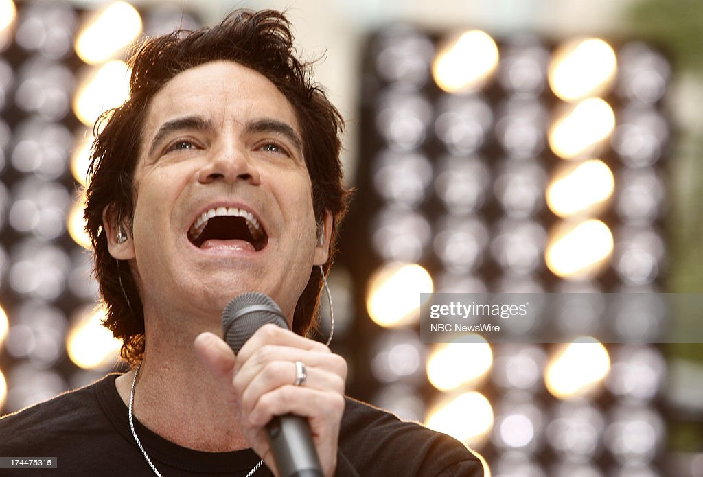 Pat Monahan of the music group Train appears on NBC News' 'Today' show --