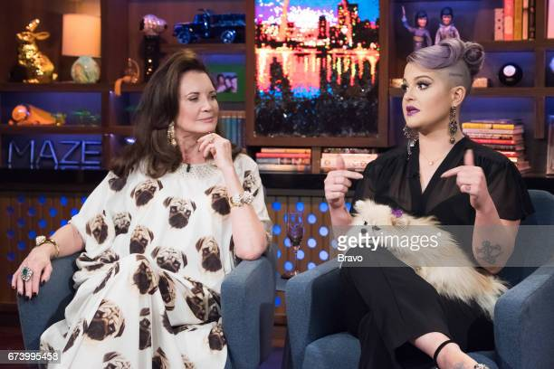 Patricia Altschul and Kelly Osbourne