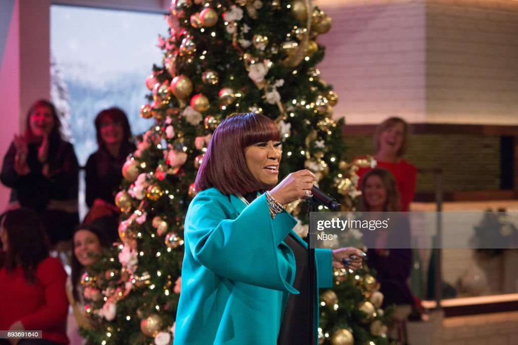"NBC's ""Megyn Kelly TODAY"" with guests Patti LaBelle, Mike Massimino, Christmas Giveaway, Stephanie Gosk"