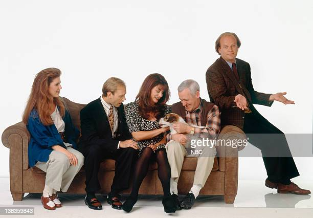 Peri Gilpin as Roz Doyle David Hyde Pierce as Dr Niles Crane Jane Leeves as Daphne Moon John Mahoney as Martin Crane Moose as Eddie Kelsey Grammer as...