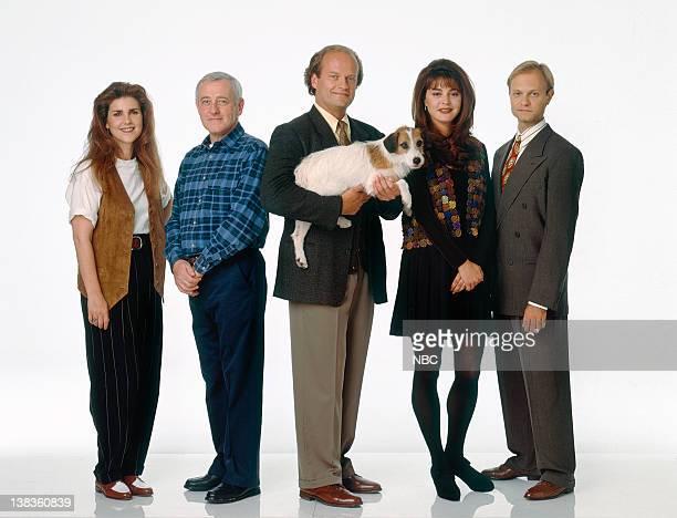 Peri Gilpin as Roz Doyle John Mahoney as Martin Crane Kelsey Grammer as Dr Frasier Crane Moose as Eddie Jane Leeves as Daphne Moon David Hyde Pierce...