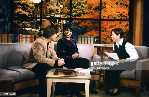 Personal trainer Bob Greene TV host Oprah Winfrey NBC News' Katie Couric on September 16 1996 Photo by Andrea Renault/NBC/NBC NewsWire