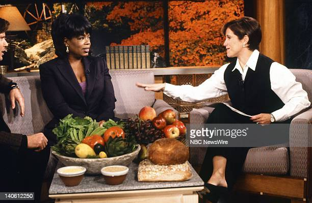 Personal trainer Bob Greene TV host Oprah Winfrey NBC News' Katie Couric on September 17 1996 Photo by Andrea Renault/NBC/NBC NewsWire