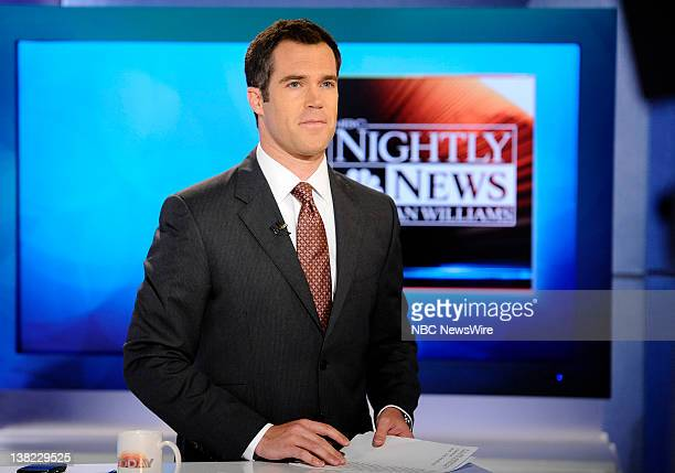 Peter Alexander appears on NBC News' Today show