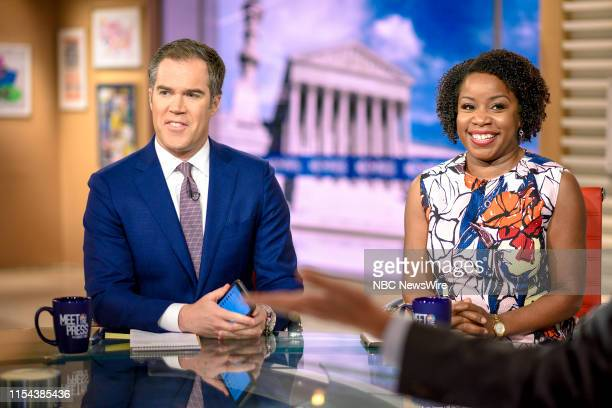 Pictured: Peter Alexander, Co-Anchor, Weekend Today; NBC News White House Correspondent, and Kimberly Atkins, Senior Washington News Correspondent,...
