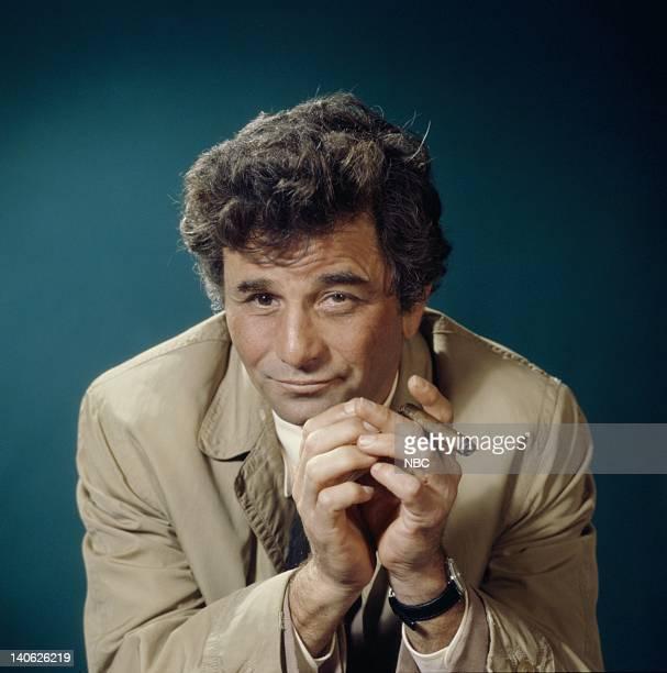 Peter Falk as Lieutenant Columbo Photo by NBCU Photo Bank