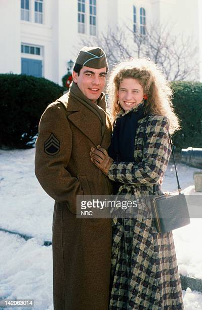 I'LL BE HOME FOR CHRISTMAS Pictured Peter Gallagher as Aaron Copler Nancy Travis as Leah Bundy